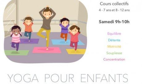 Cours de yoga pour enfants