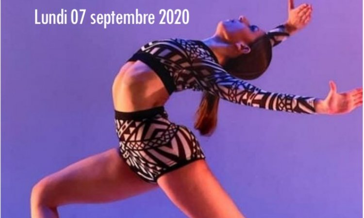 reprise inscriptions danse
